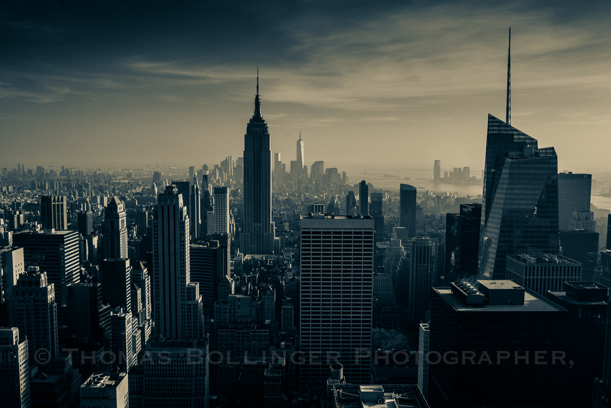 New York City's iconic 21st Century Skyline ... The Modern ...