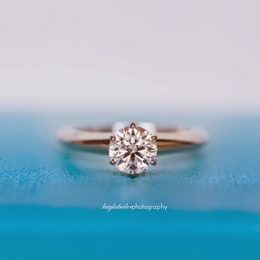 tiffany solitaire diamond ring photo