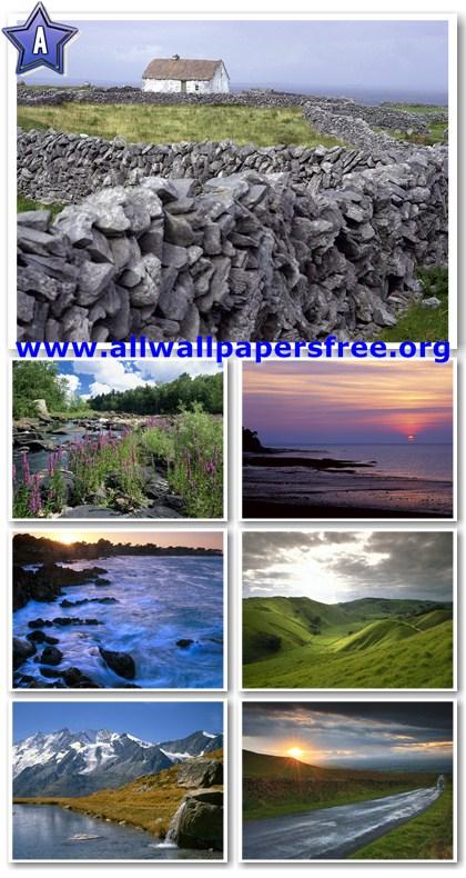 100 Beautiful Natural Scenery Wallpapers 1600 X 1200 [Set 1]