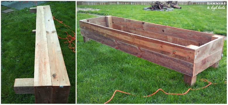 hammers and high heels memorial day mini project diy raised garden beds - Garden Boxes Diy