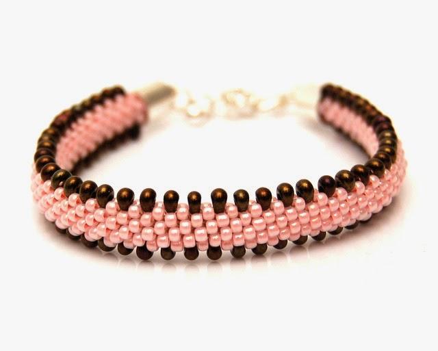 bransoletka koralikowa bead crochet bracelet inati zare 20