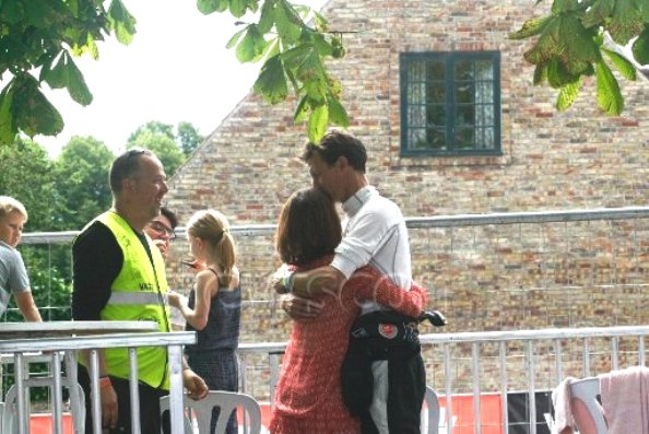 Princess Marie At The Historical Grand Prix In Copenhagen