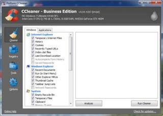 CCleaner Professional and Business Edition v4.04.4197 Incl Fix Crack Free Download