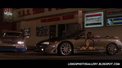 The Fast and The Furious 1997 Mitsubishi Eclipse Spyder