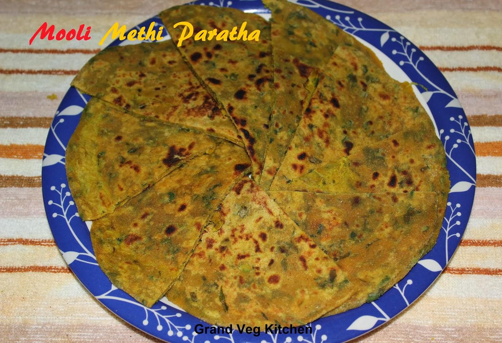 Mooli Methi Paratha
