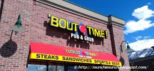 'Bout Time Pub & Grub via http://munchimunch.blogspot.com/