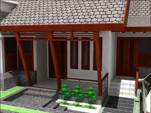 gambar desain teras rumah minimalis modern rumah