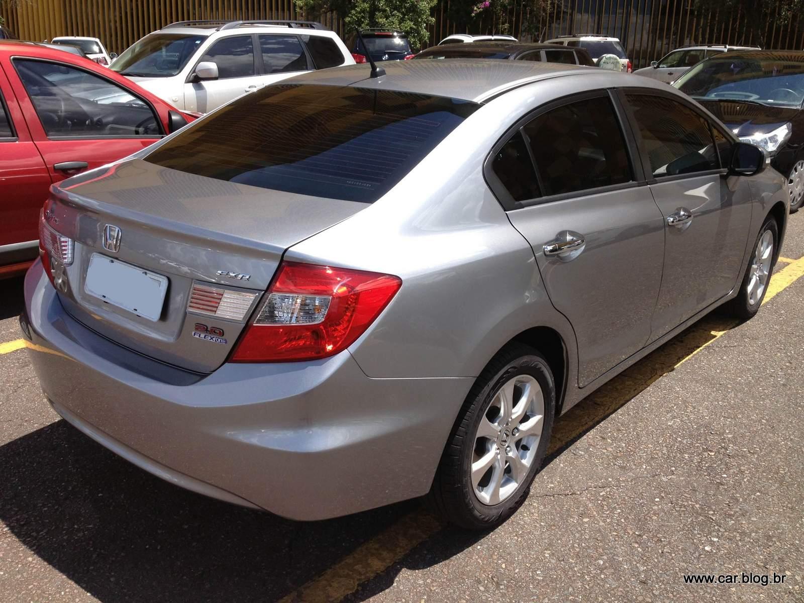 Ficha Técnica – Honda Civic EX-R 2.0 2014