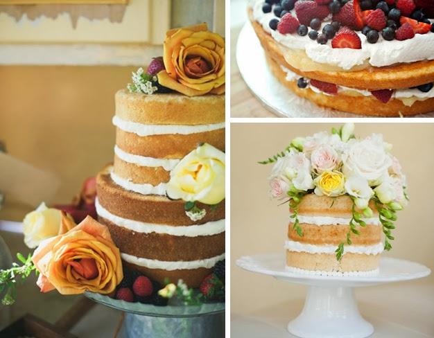 Torte nude: nuova dolcissima tendenza per il matrimonio