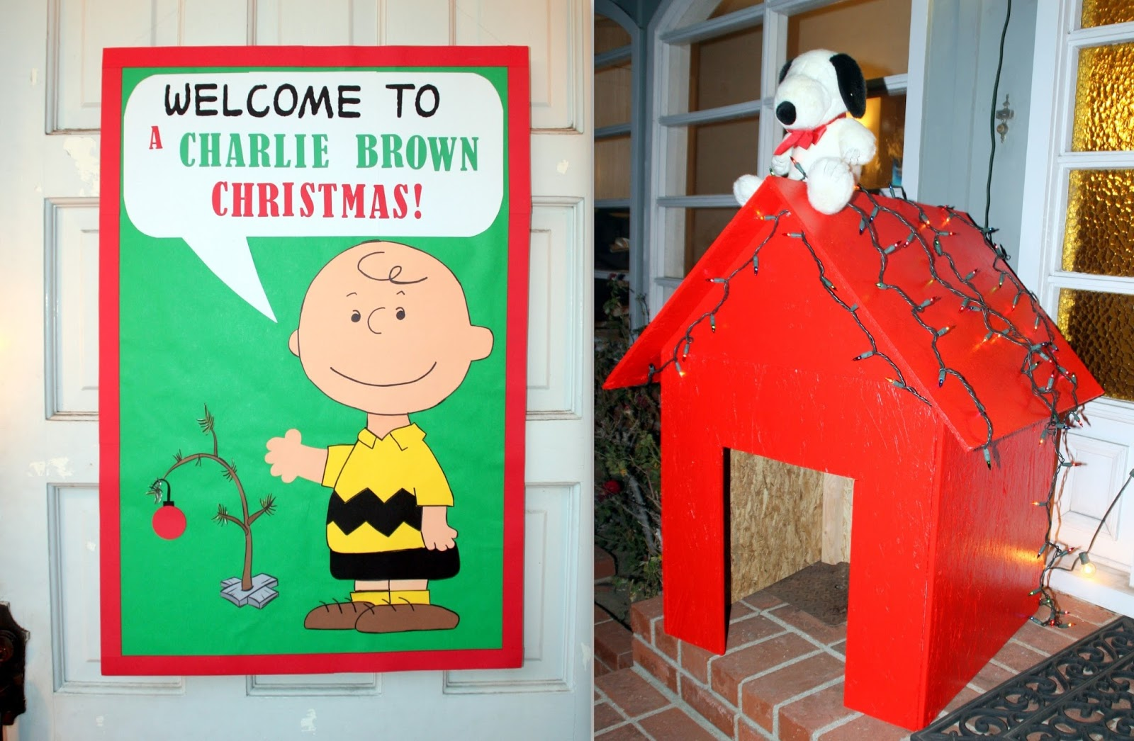 charlie brown christmas party ideas