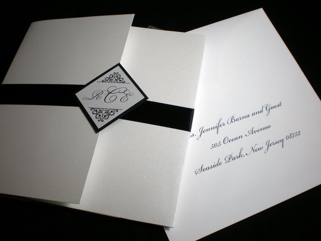 Jar of Ideas: Classic Black and White Wedding