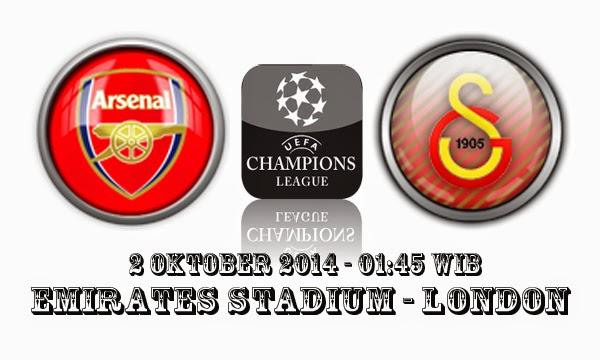 Prediksi Skor Bola Arsenal Vs Galatasaray 2 Oktober 2014