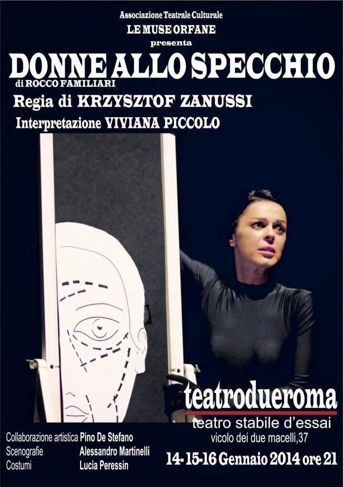 Beppe costa blog donne allo specchio di rocco familiari al teatro due di roma - Ragazze nude allo specchio ...