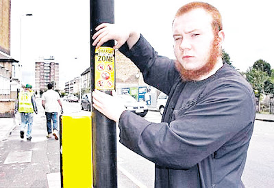 Gambar Kempen Zon Undang-Undang Syariah Di Britain