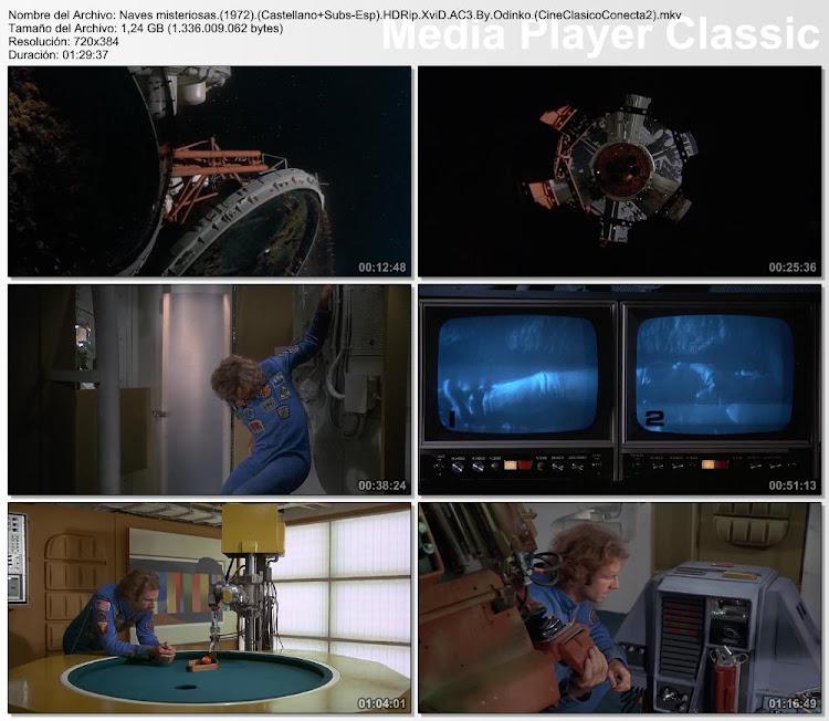 Secuencias de la película: Naves misteriosas | 1972 | Silent Running