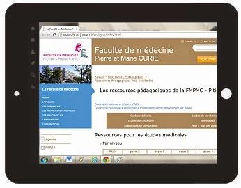 Cours de medecine en ligne faculte pierre marie curie pitie salpetriere