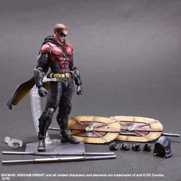 Play Arts Kai Robin Arkham Knight game