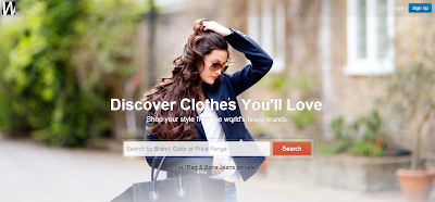 Social Shopping Website Wantering for Women and Men