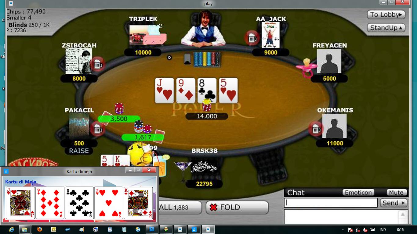 Itu poker login