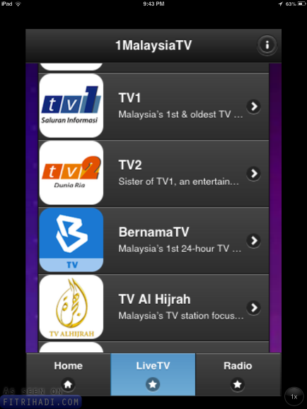 Tips Tonton Live Streaming TV Malaysia Handphone PC