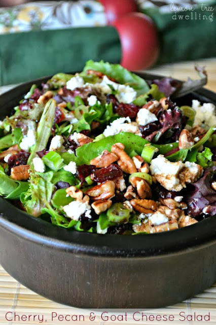 http://www.lemontreedwelling.com/2013/11/cherry-pecan-goat-cheese-salad.html