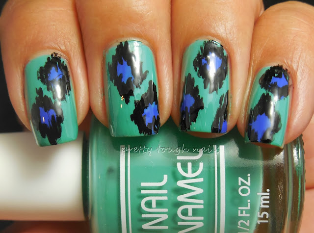 #31DC2013 Honor/Recreate Nails You Love - Ikat Pattern