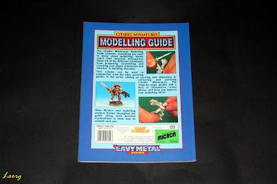 Contraportada de Citadel Miniatures Modelling Guide