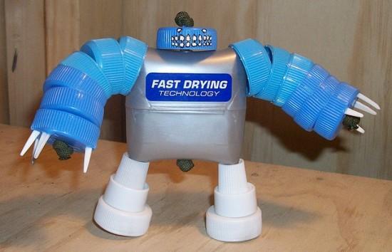Как сделать робота своими руками из подручных материалов