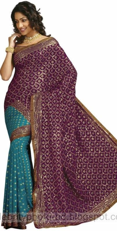 Girls%2BStylish%2BSaree%2BCollection%2BFor%2BEid%2BFestival%2B2014 2015001