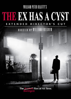 funny Boring Horror Movie tweets, The Ex Has A Cyst, funny The Exorcist
