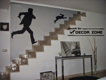 Captivating Wallpaper Ideas For Staircase Wall Decoration