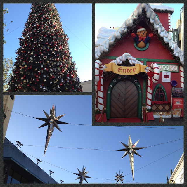 Christmas at The Grove in Los Angeles!