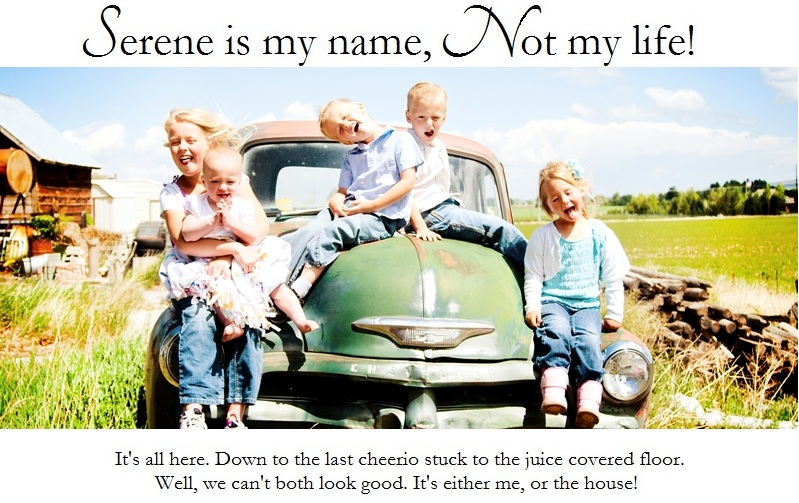 Serene is my name, Not my life!