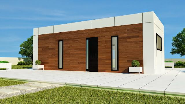 Vivienda modular modelo loft - Resan