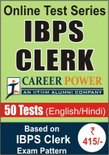 IBPS Clerk Online Test Series