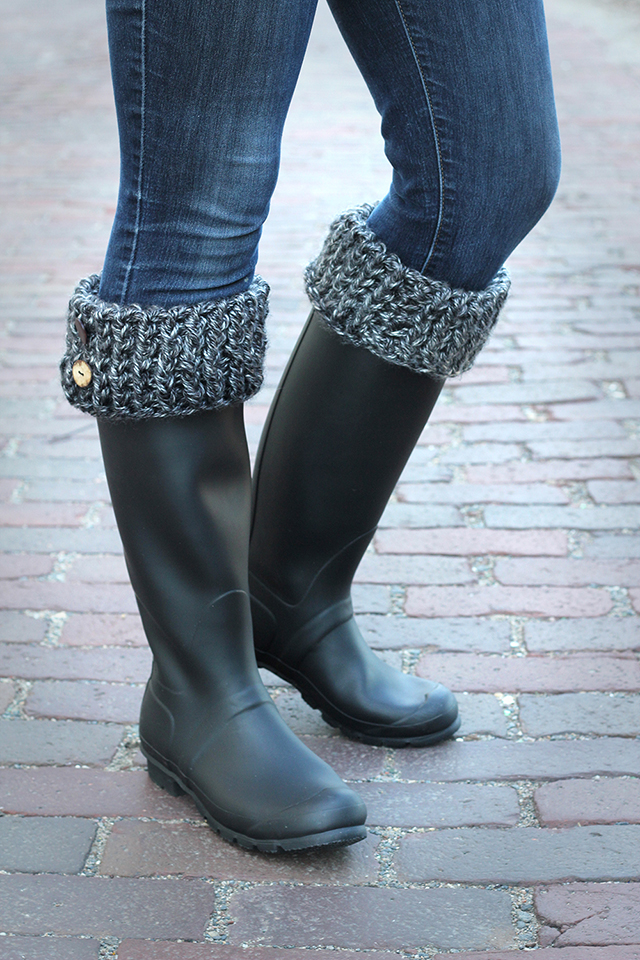 How to make boot cuffs - cozy!