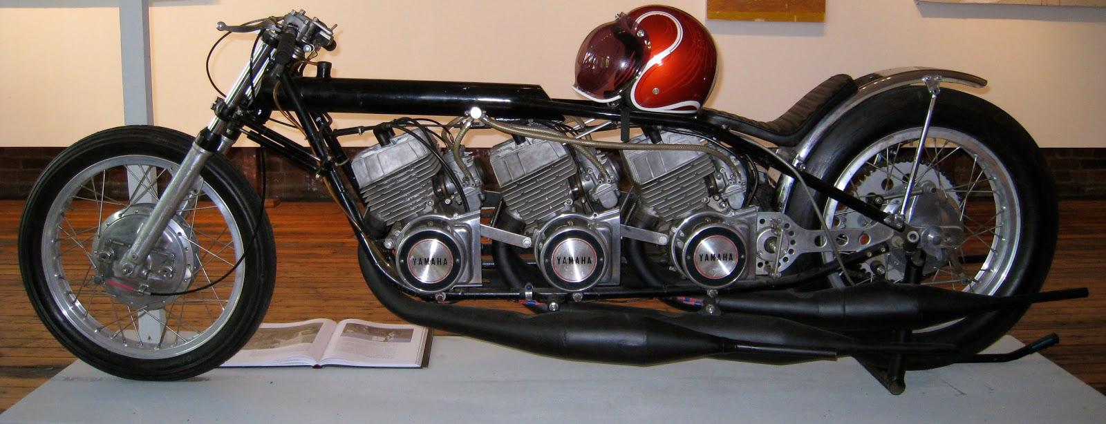 Building Speed: Pat Miller\'s triple-engine Yamaha