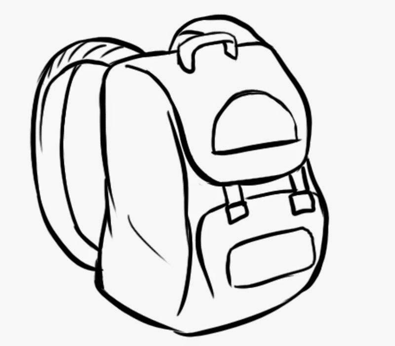 Image gallery la mochila for Dormitorio para colorear