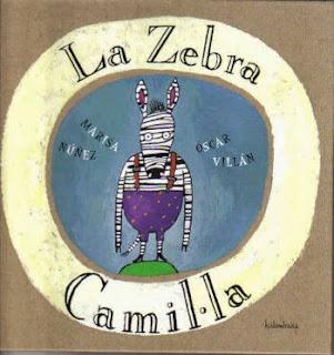 Llibre infantil imprescindible La zebra Camil·la