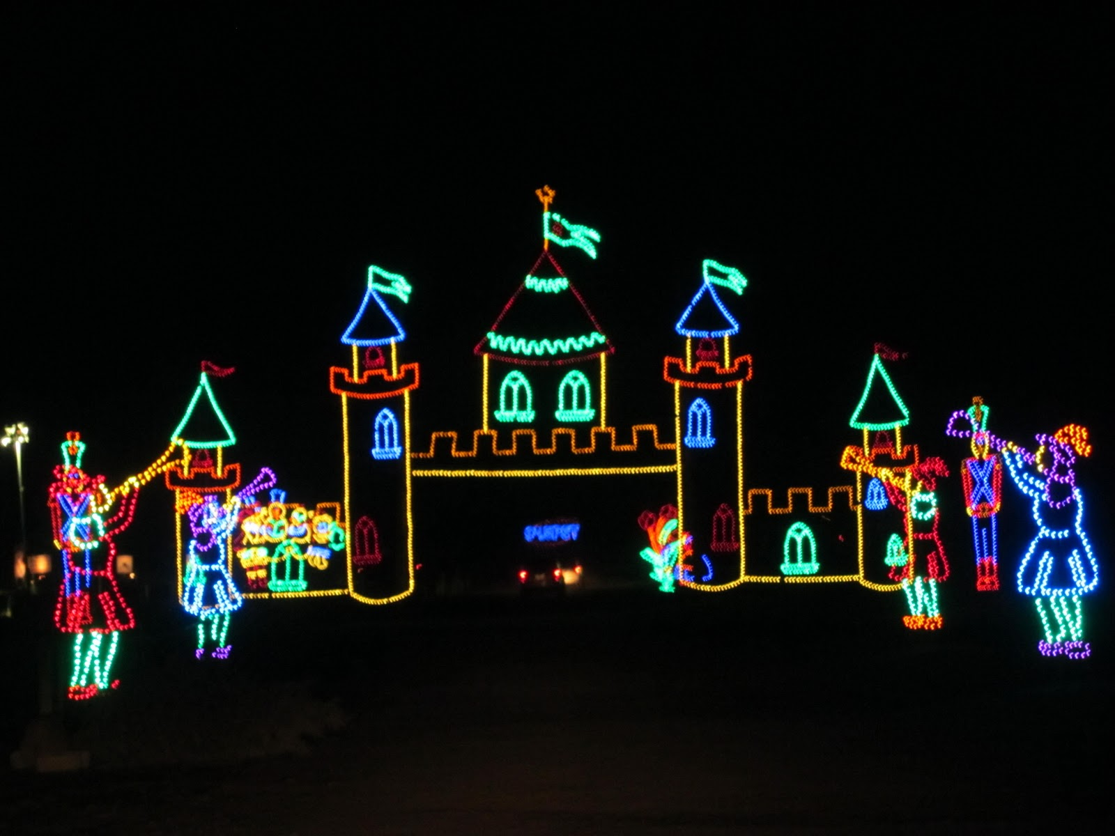 Holiday Lights at Shady Brook Farm!