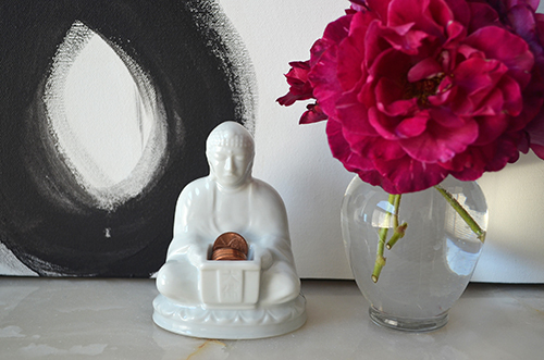quote inspiration, home decor, buddha home decor statue, rose garden home, spring blossoms