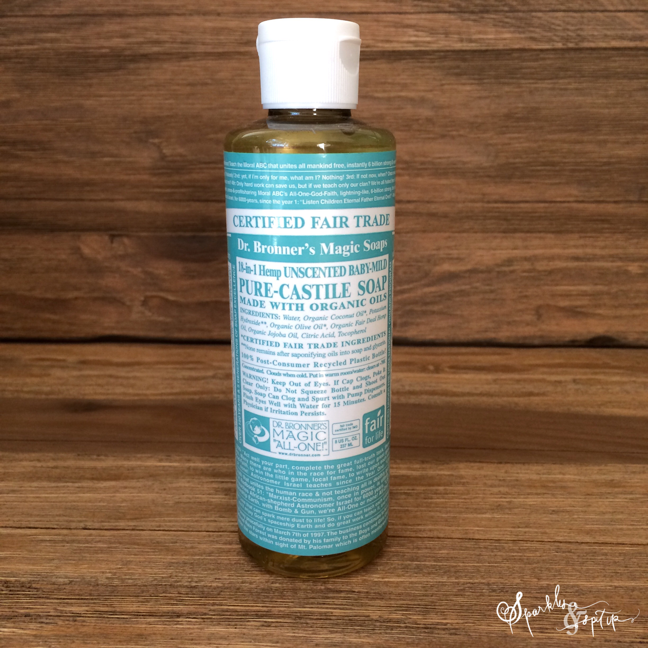 Sparkles Amp Spit Up Cleaning With Dr Bronner S Magic Soaps