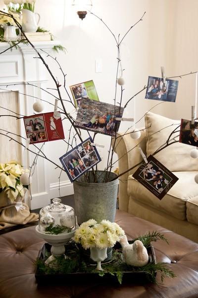 Árvores de Natal Baratas e Criativas + Árvores de Natal feita com galhos e gravetos
