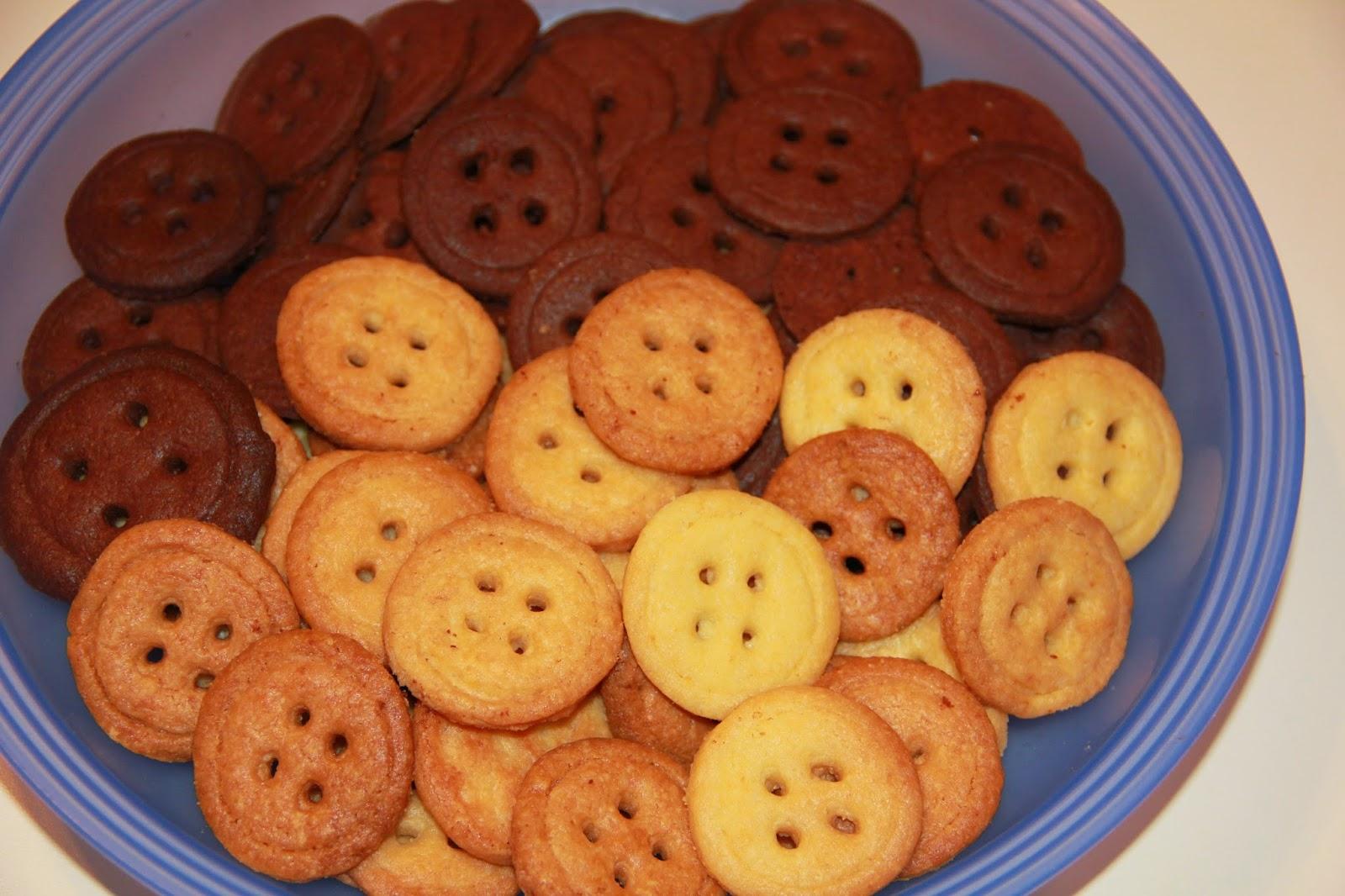 Как приготовить печенье пуговки в домашних условиях