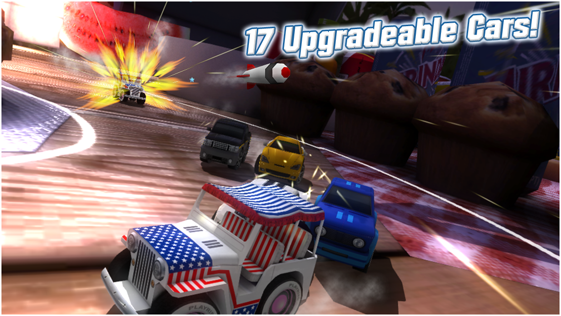 Table Top Racing Android Game