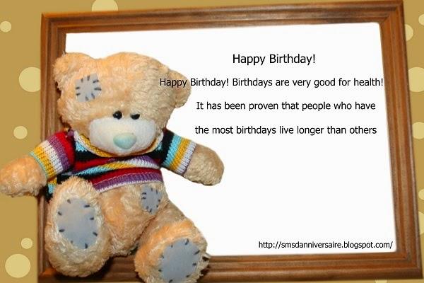 message pour dire joyeux anniversaire en anglais