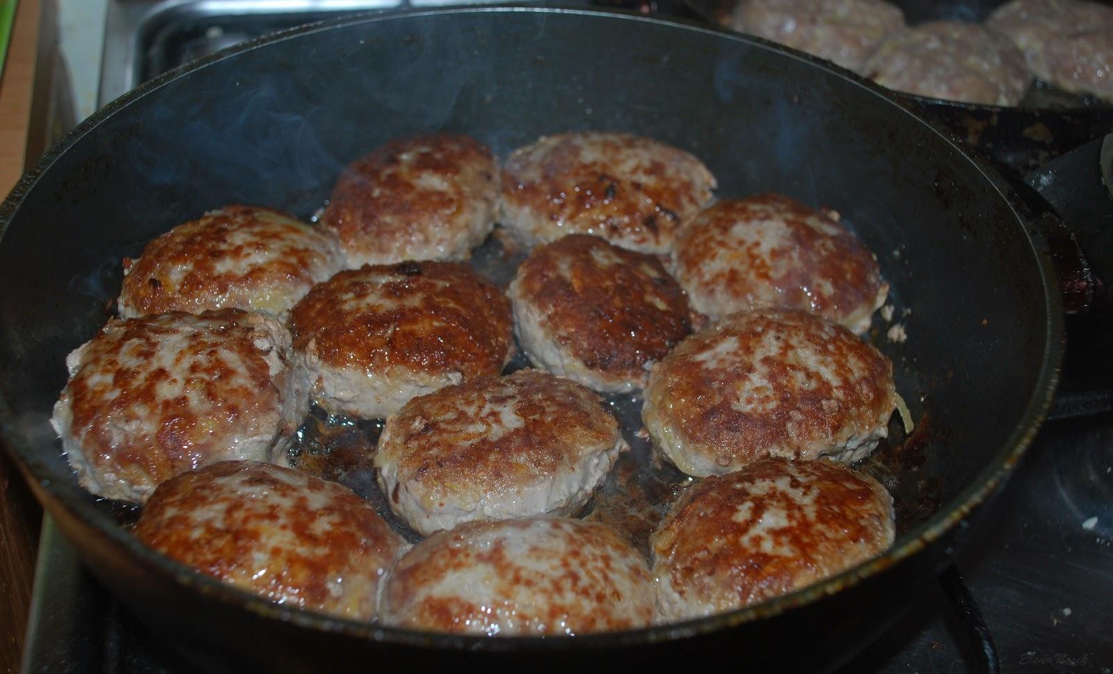 Рецепт мясных котлет 15