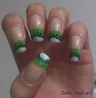 http://gelicnailart.blogspot.se/2013/03/kiwi-nail-art-funky-french.html