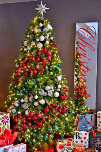 Kreasi desain dan hiasan pohon natal 2016/2017 terbaru yang unik dan menarik