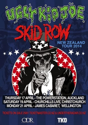 UGLY KID JOE & SKID ROW